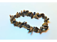 Crystal chip power bracelet - Tiger Eye