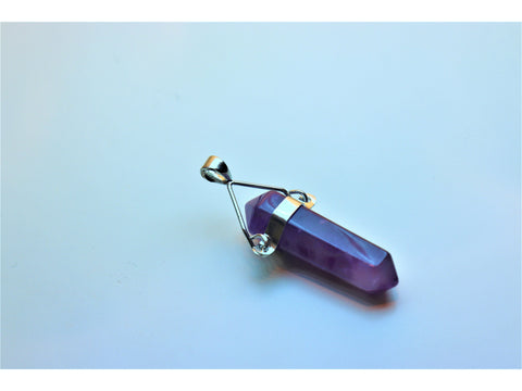 Crystal pendants - Amethyst