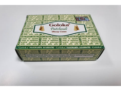 <p>Goloka</p> Patchouli Incense Cones
