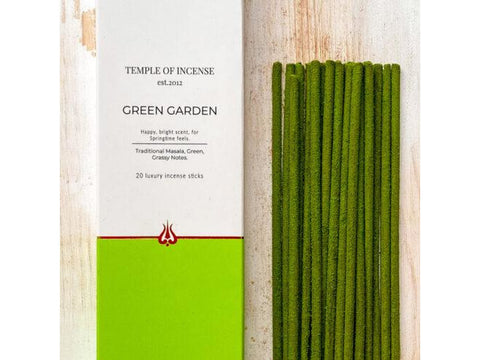Temple of Incense - Green Garden - 20 Stick Pack