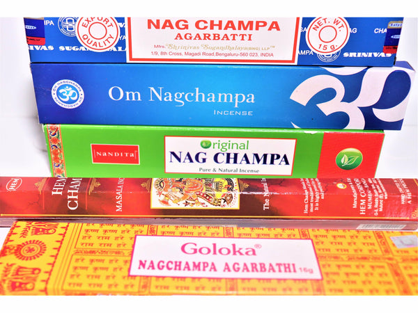 Nag Champa Incense Sticks Variety / Trial Pack