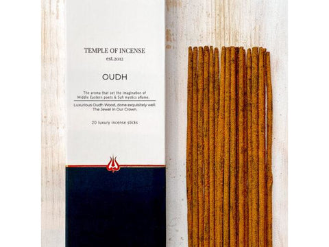 Temple of Incense - Oudh - 20 stick pack