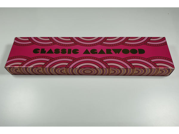 Pure incense 70's Boxed Edition - Agarwood - 50 gram box