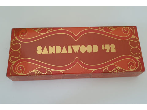 Pure incense 70's Boxed Edition - Sandalwood 1972 - 50 gram box