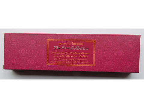 Rani Collection Indian Incense - Pure Incense Absolute - 50 gram Box