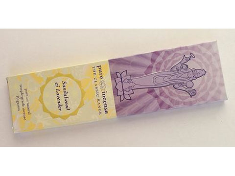 Pure Incense Classic - Sandalwood and Lavender - 10 gram pack