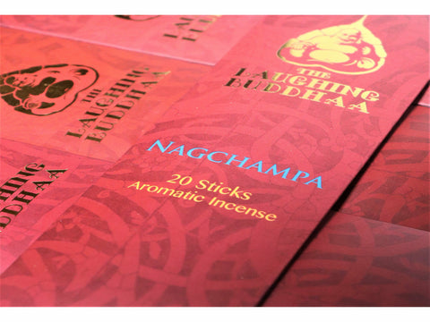 <p>The Laughing Buddhaa</p> Nag Champa