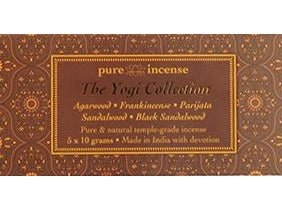 Yogi Collection Indian Incense - Pure Incense Absolute - 50 gram Box