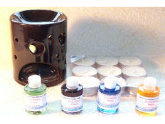 Oil burner & fragrance oil starter pack