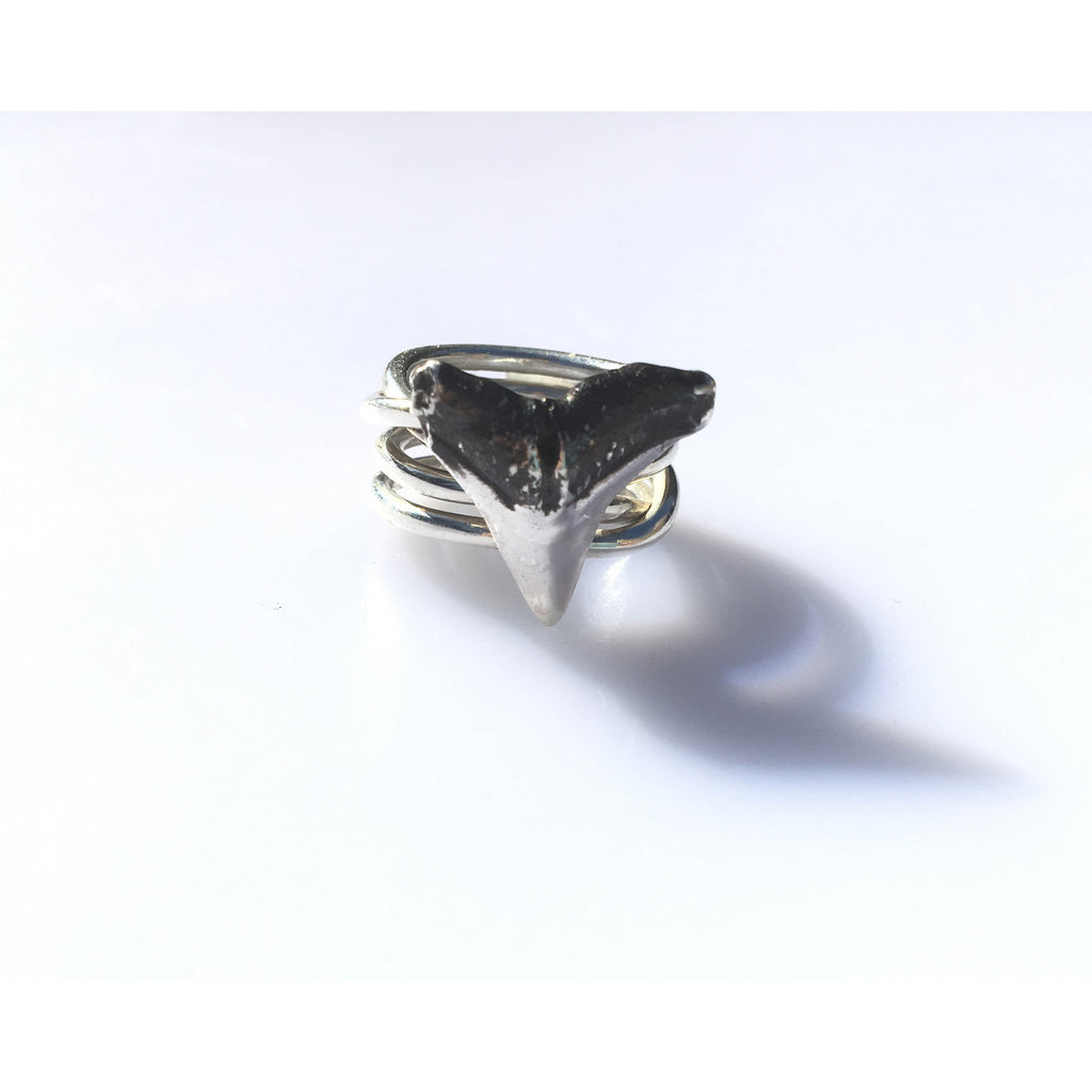 Multi Band Tooth Ring