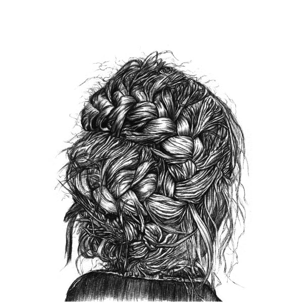 Frayed Braid - Print