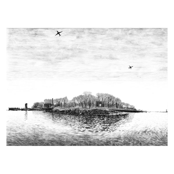 North Brother Island - Print