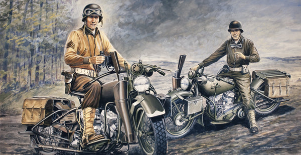 1/35 U.S. Motorcycles WWII