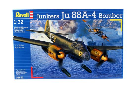 1/72 Junkers JU 88A-4 Bomber
