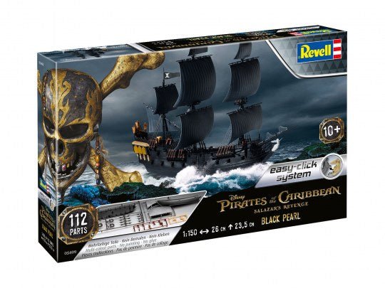 1/150 Black Pearl Pirate Ship