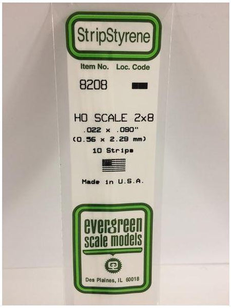 0.56 x 2.29mm Strip (10) 8208