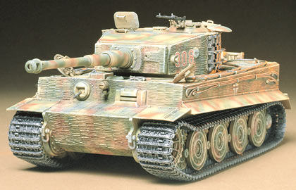 1/35 German Heavy Tank Tiger I Late Version