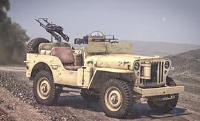 1/56 Willys Jeep MB 1/4 ton 4x4 truck - Commonwealth