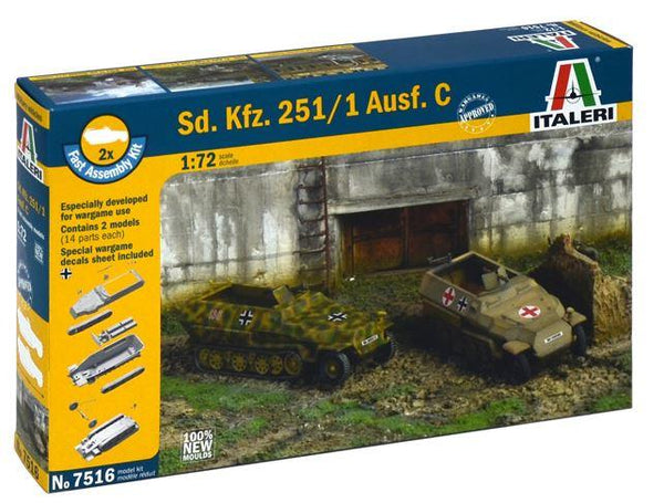 1/72 Sd.Kfz. 251/1 Ausf. C - FAST ASSEMBLY