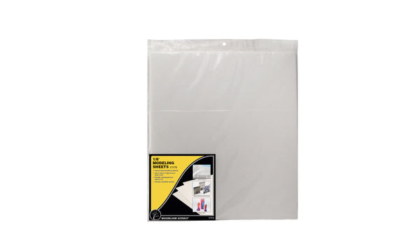 "1/8"" Modelling Sheets (4 pack)"