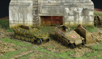 1/72 SdKfz 251/1 Ausf C German Halftrack (2)