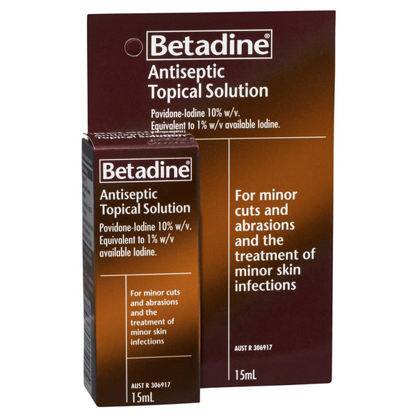 BETADINE Antiseptic Top. Sol. 15ml