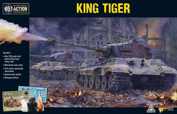 German King Tiger II Plastic Kit