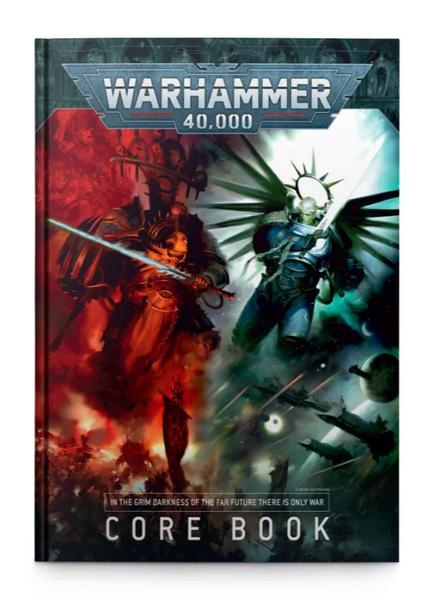 40-02 Warhammer 40000 (40k) : Core Book 9th Edition