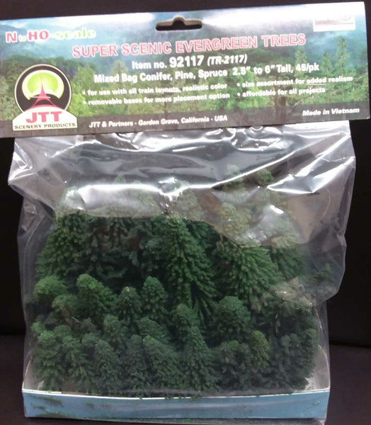 62-150mm Pine/Conifer/Spruce (45) tree 92117