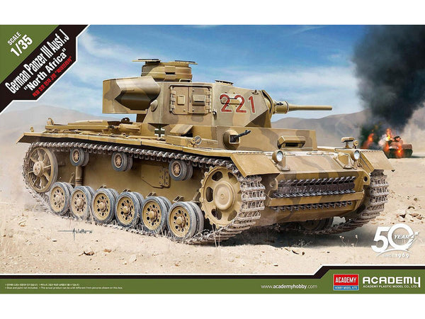"1/35 German Panzer III Ausf ""Nth Africa"""