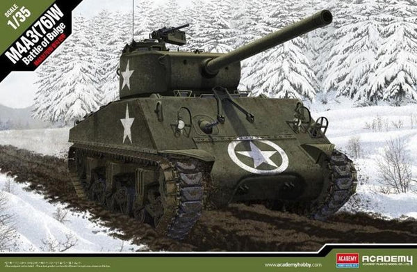 1/35 M4A3 Battle of the Bulge