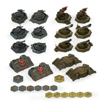 Aeronautica Imperialis Imperial and Ork Ground Assets