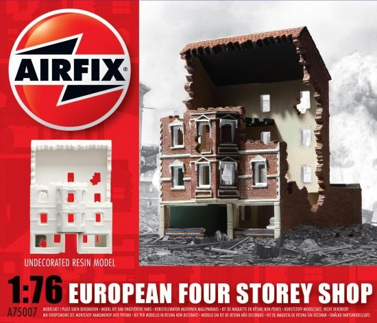 Airfix 1:76 European Four Storey Shop