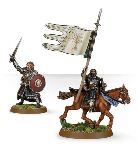 Armoured Boromir (Foot & Mounted)