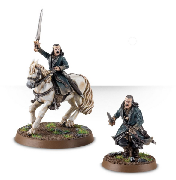 Bard the Bowman™ on Foot & Mounted