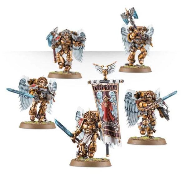 41-08 Blood Angels Sanguinary Guard