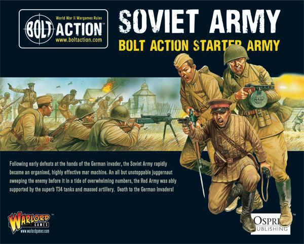 Bolt Action Soviet Starter Army 1000pts