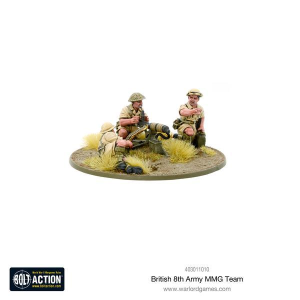 British 8th Army MMG Team