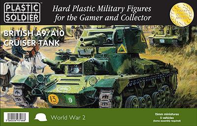 PSC 15mm British A9/A10 Cruiser Tank