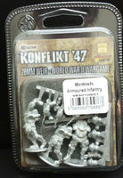 British Armoured Infantry (Preview pack)