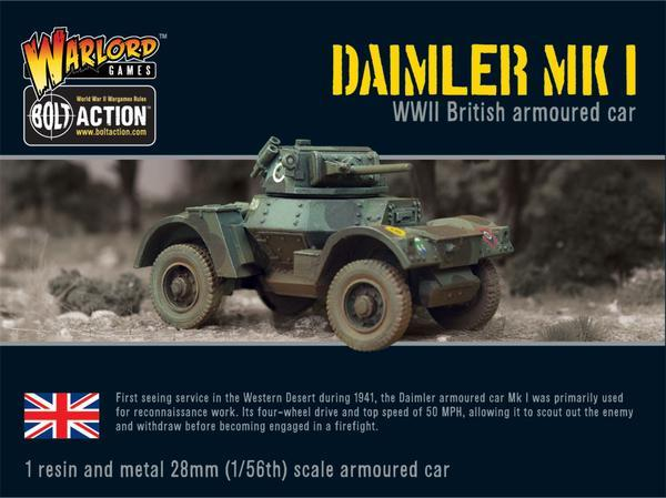 British Army - Daimler Armoured Car