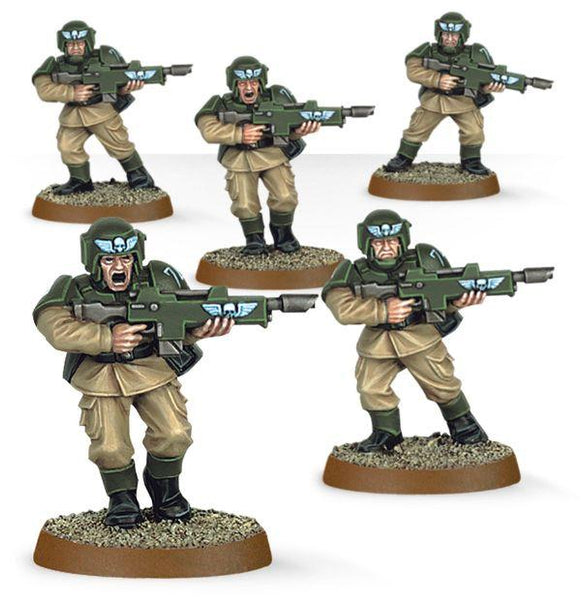 35-33 Easy to Build Astra Militarum (5 models)