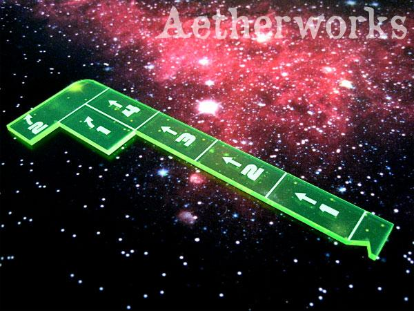 Capital Ship Movement Template (Fluorescent Green)