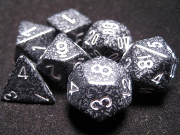 Chessex Dice Sets: Ninja Poly 7 Dice Cube