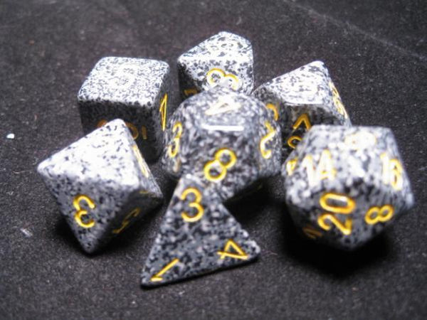 Chessex Dice Sets: Urban Poly 7 dice Cube