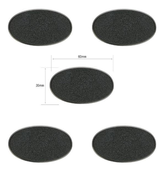 Citadel 60 x 35mm Oval Bases 5pack