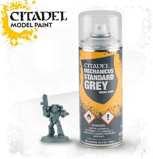 Spray: Mechanicus Standard Grey Spray