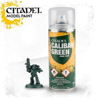 Spray Paint: Caliban Green