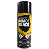 62-02 Spray Paint: Chaos Black