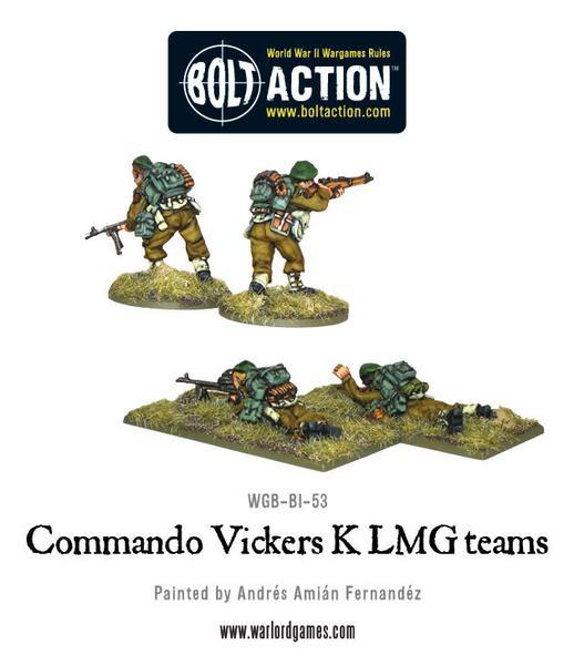 Commando Vickers K LMG Teams